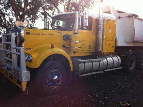 Tipper Truck Rentals in Western Australia